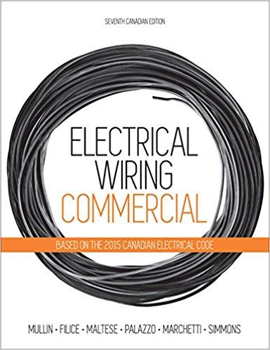 electrical wiring commercial paperback aug 17 2015 solutions rh pinterest com electrical wiring commercial 15th edition pdf free electrical wiring commercial 7th edition pdf