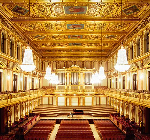 Vienna Musikverein Golden Hall Vienna Austria Vienna Travel Musikverein Concert Hall