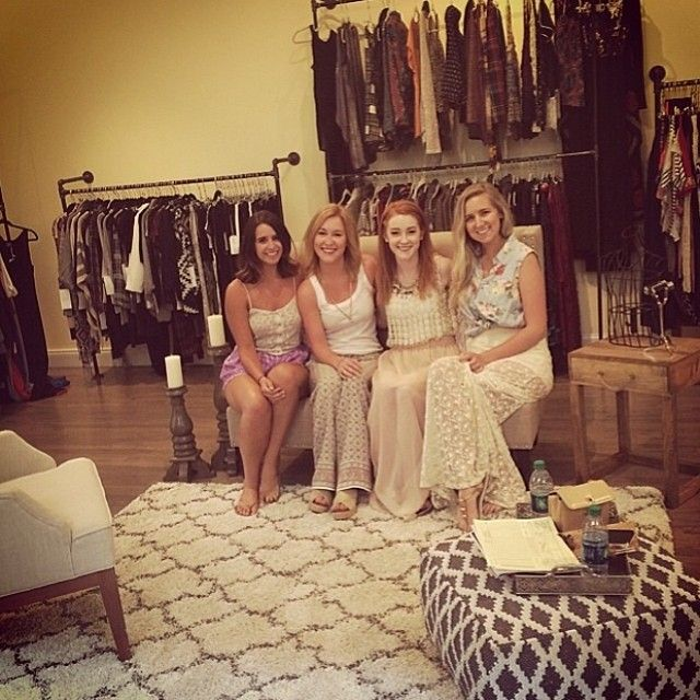 Thanks @decadenceshowroom for some fabulous fall & resort finds! @annieckeppeler #thebarnowlboutique