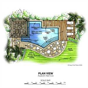 Swimming Pool Plan Design in 2019 | Swimming pool plan ...