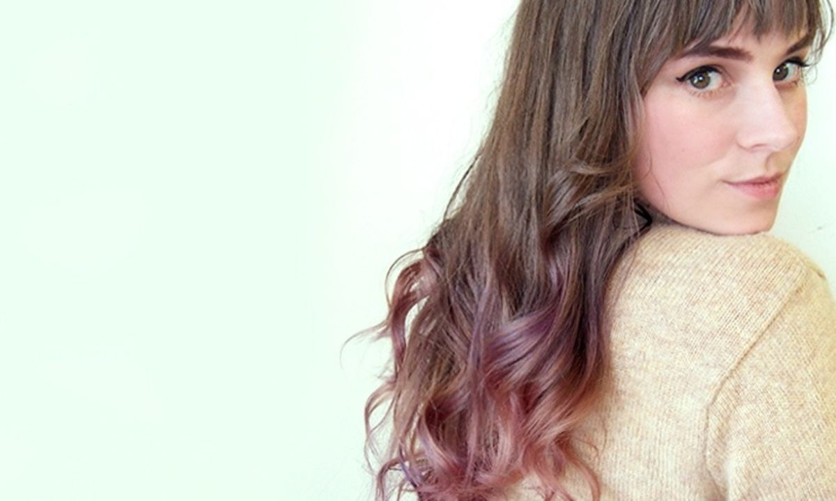 Diy Purple Ombre Hair I Ll Show You How Did It Just