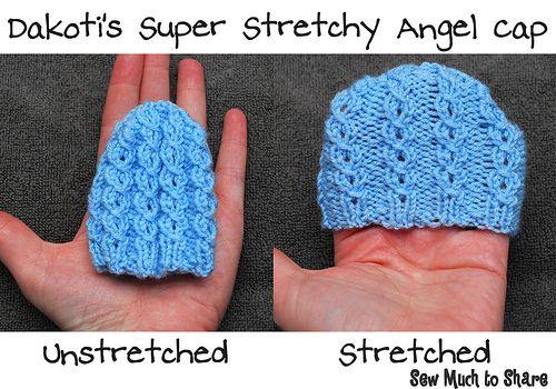 Dakoti s Super Stretchy Hats - 3 patterns  preemie  angelbaby  bereavement bf8052e36f4
