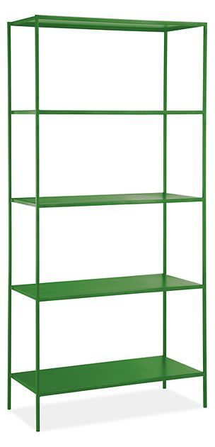 Slim Bookcases In Colors