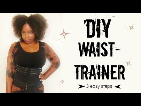 b368665bb1c Do It Yourself Waist trainer Im so excited to share this video ...