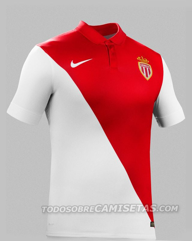 046705488 AS Monaco Home shirt 2014 15