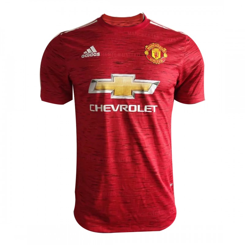 20 21 Manchester United Home Red Jerseys Shirt Player Version Best Soccer Store In 2020 Jersey Shirt Manchester United Jersey