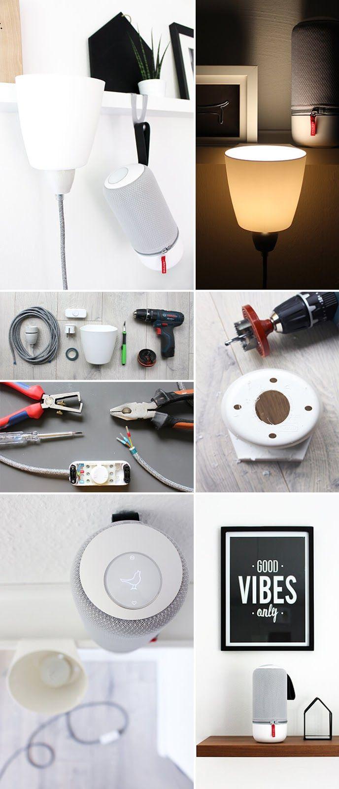 gingered things, lamp, bygel, craft, diy, ikea hack, lampe