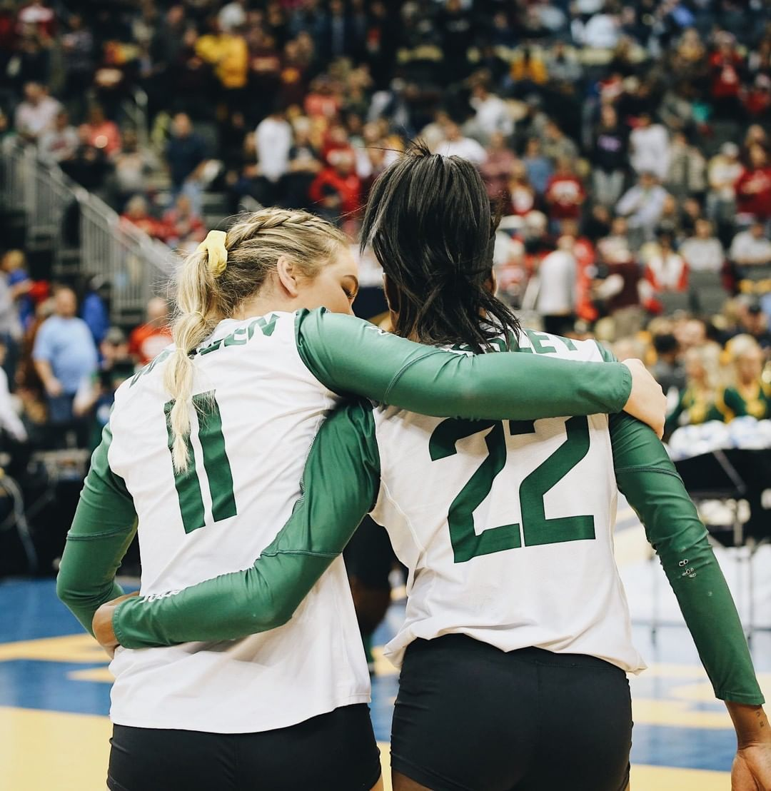 The Best Season In Baylor Volleyball History Comes To An End In The Ncaa Final Four A 3 1 Loss To Wisconsin In 2020 Volleyball History