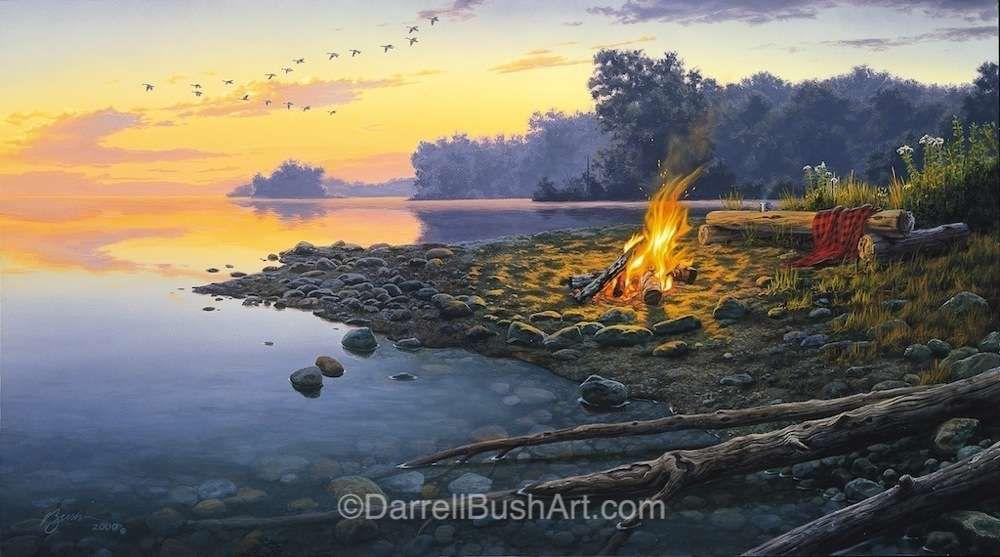 Fireside Point Darrell Bush