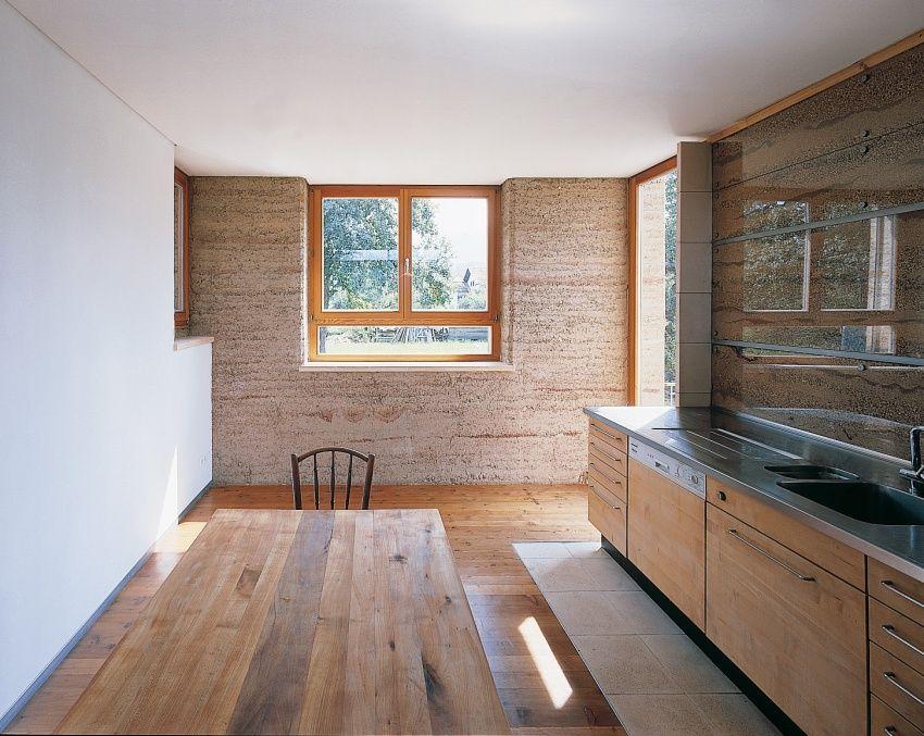 wohnhaus m lehm ton erde martin rauch vorarlberg tiny house pinterest rammed earth. Black Bedroom Furniture Sets. Home Design Ideas