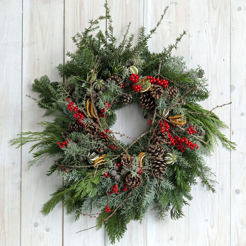 Christmas Wreath Making Workshop Pins Petals Powder Victoria