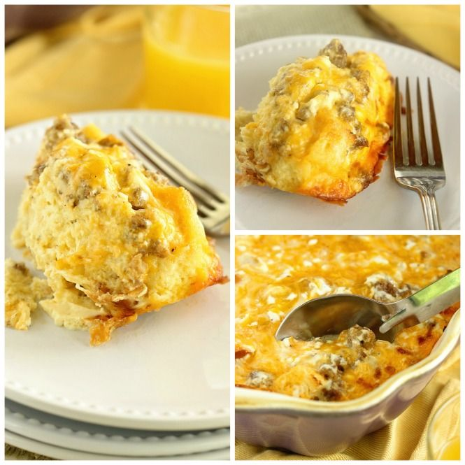 This Sour Cream Breakfast Casserole Is One Of The Best Yet It Is Filled With Sour Cream Breakfast Casserole Hashbrown Breakfast Casserole