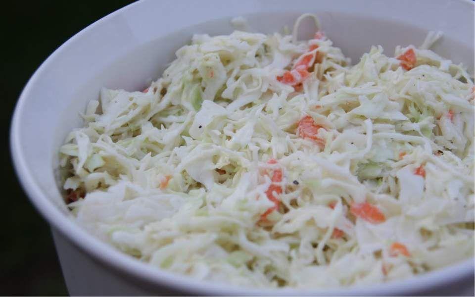 coleslaw lchf recept