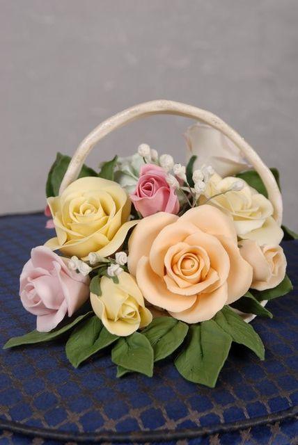 طريقة عمل ورد من عجينة السيراميك فكرة عمل زهور جميلة من عجينة السيراميك