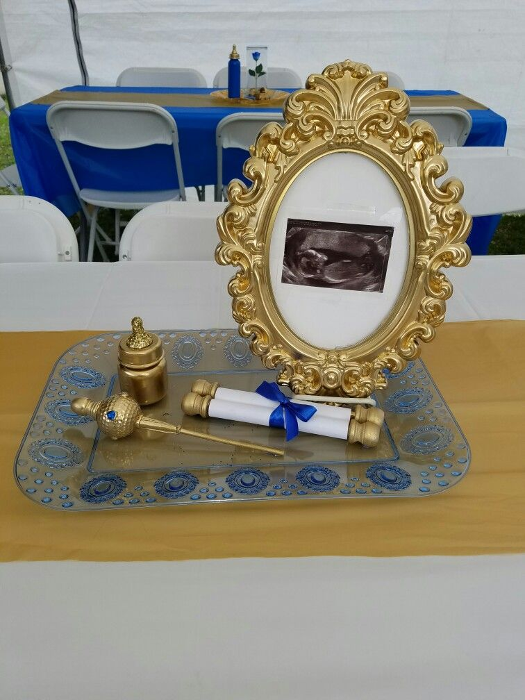 Baby Prince Baby Shower Theme Princeaiden My Diy Projects
