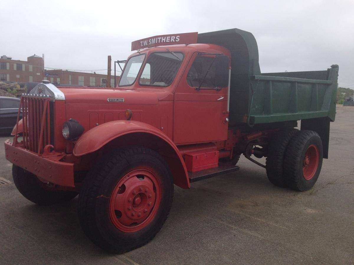 1950 Sterling Chain Drive Dump Truck For Sale Hemmings