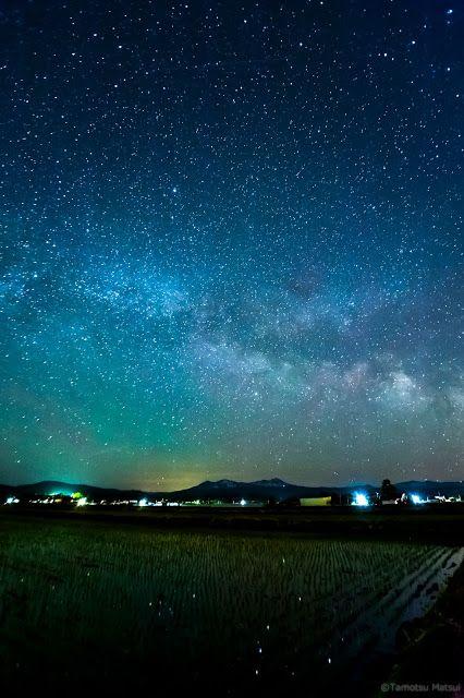 "Natural Planetarium at "" HIGASHIKAWA "" in #Hokkaido.  Location  Higashikawa-Town Kamikawa-Gun Hokkaido Japan"