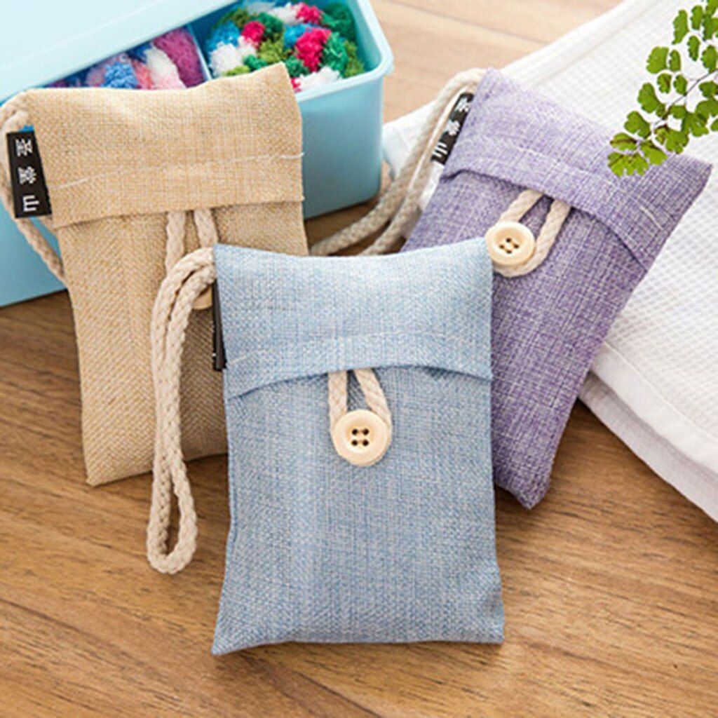 Handmade Home Purifier Bamboo Charcoal Bag Bags