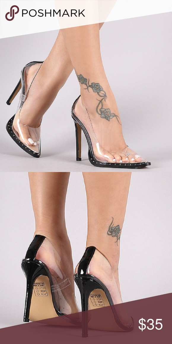 Kylie K Clear Pumps Kylie K pointed toe