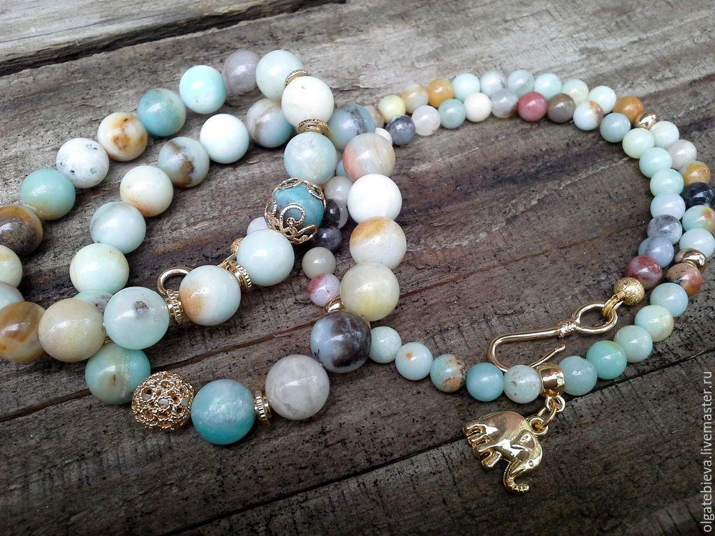 Бусы и браслеты из натуральных камней купить