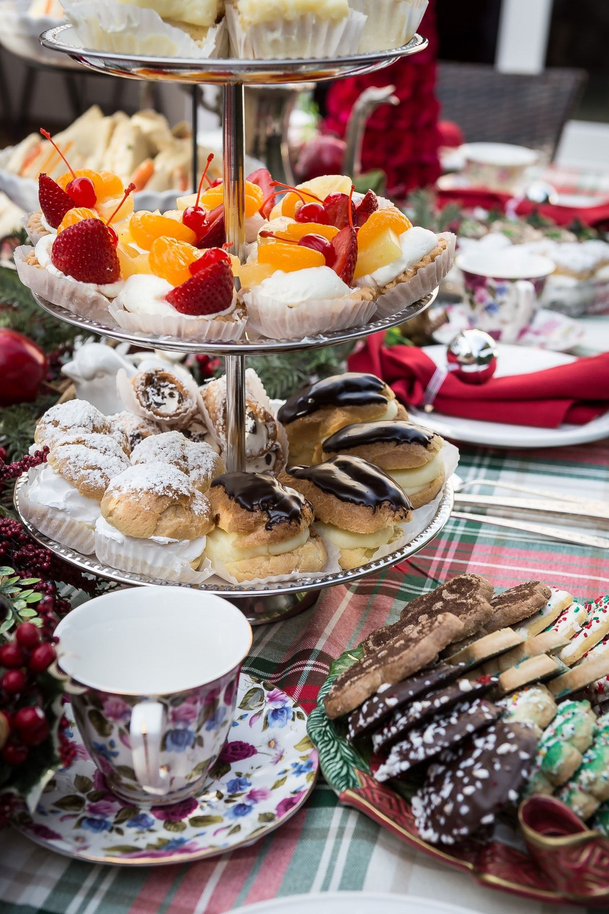 How To Host A Perfect Christmas Tea Party Recipe Afternoon Tea