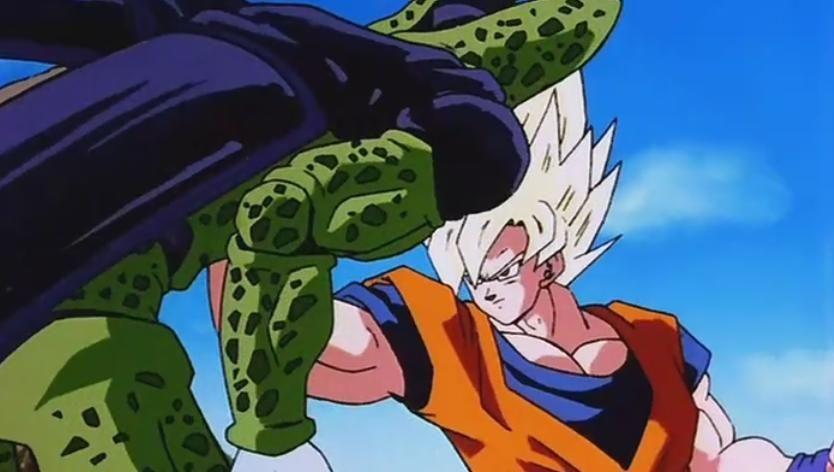 Super saiyan 2 gohan vs cell gt goku super saiyan 4 dragon ball gt goten and trunks - Dragon ball gohan super saiyan 4 ...