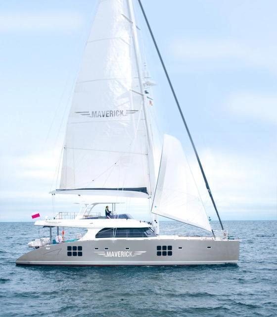 MAVERICK - Sunreef 70 sailing catamaran   Catamaran yacht ...