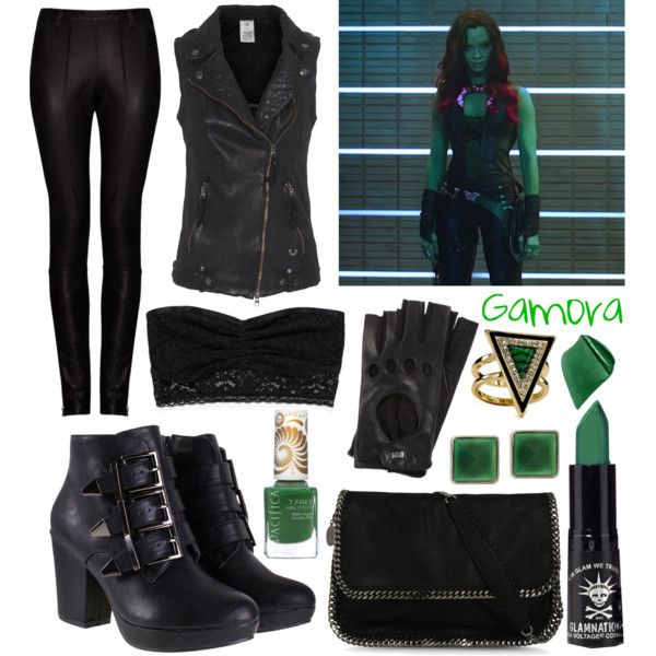 Guardians of the Galaxy: Gamora | Character inspired ...