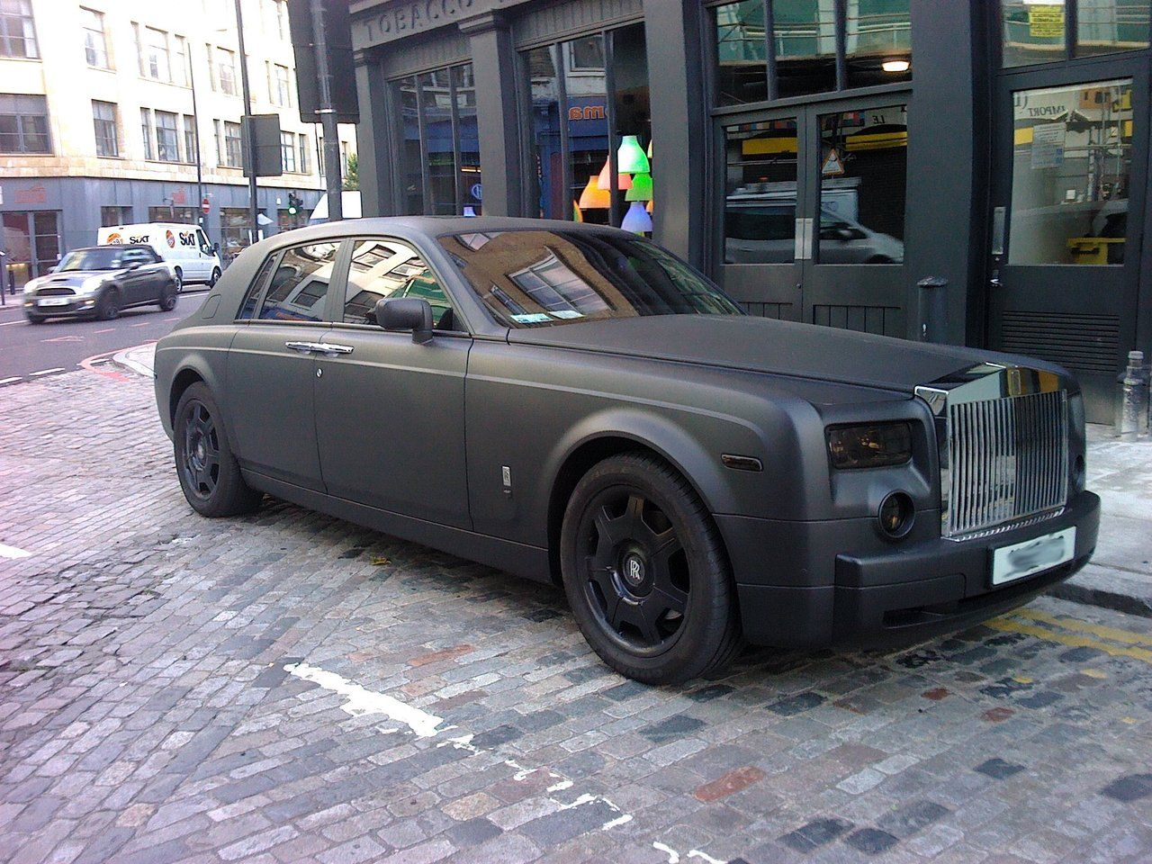 A ROYAL AFFAIR…. | BCND |Matte Black Rolls Royce Phantom 2014