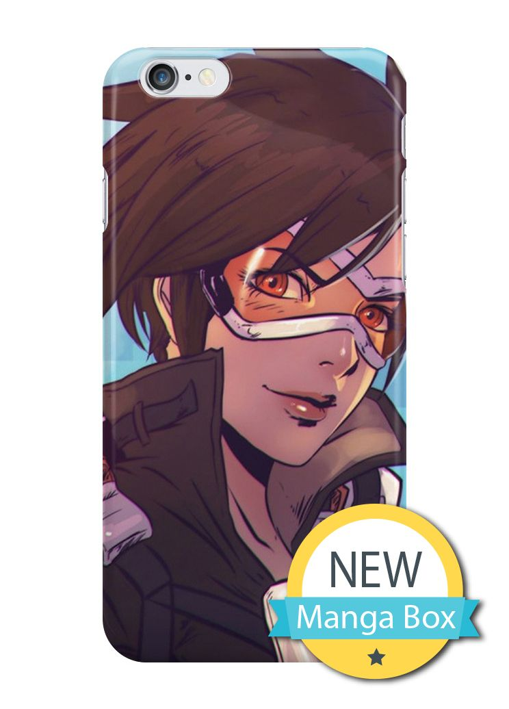 iPhone 6 Case, iPhone 6s Case - Manga Box Custom Overwatch Tracer D.Va Widowmaker Mercy Polycarbonate Hard Case Back Cover For iPhone 6/6s 4.7 inch (3D CASE)