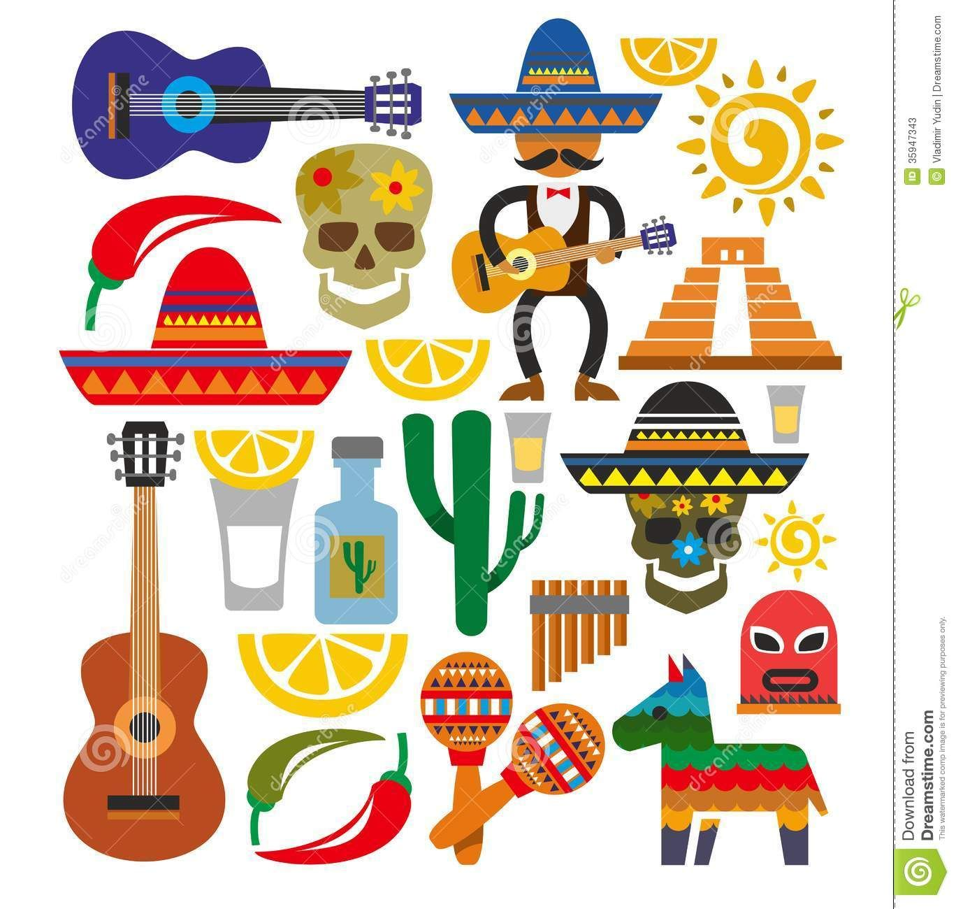 Mexico stock illustrations vectors clipart 10 311 for Mexican logos images