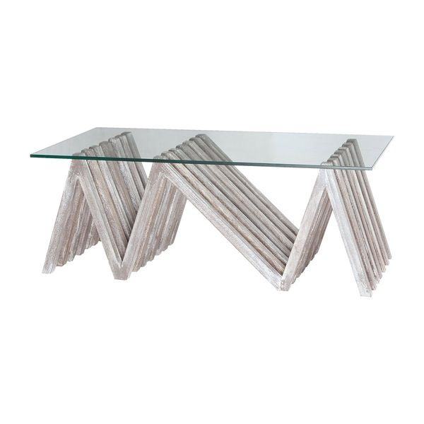 Dimond Home Index Asymmetrycal Coffee Table.