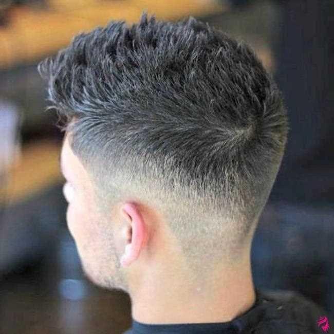 mittleres ausbleichen mit stacheligem haar | frisuren