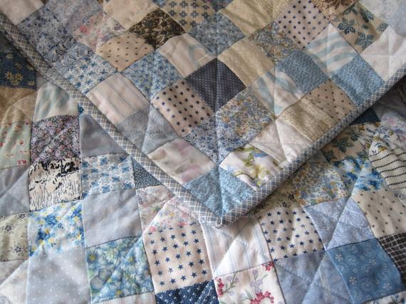 Made For You Handmade Traditional Patchwork Quilt Full Size Queen Size Quilt Small Squares Roma Queen Size Quilt Quilts Twin Quilt Size