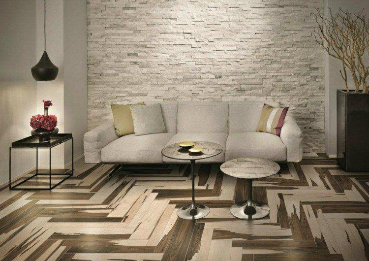 Carrelage imitation parquet et plancher par les top marques Salons - Salle A Manger Parquet