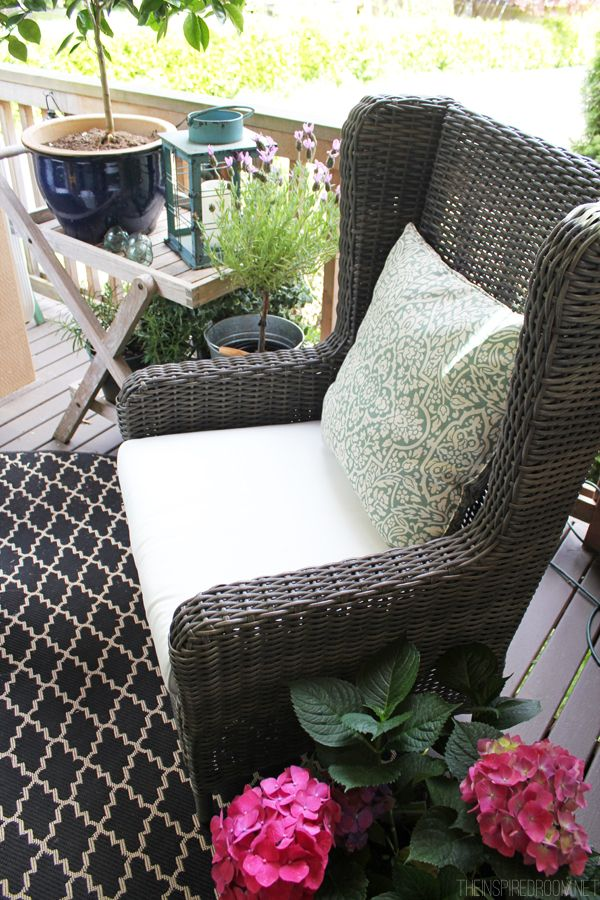 All Weather Wicker Outdoor Chairs Neutral Posture Chair Assembly Wingbacks For The Front Porch Yards Pinterest Himara Wingback Gray