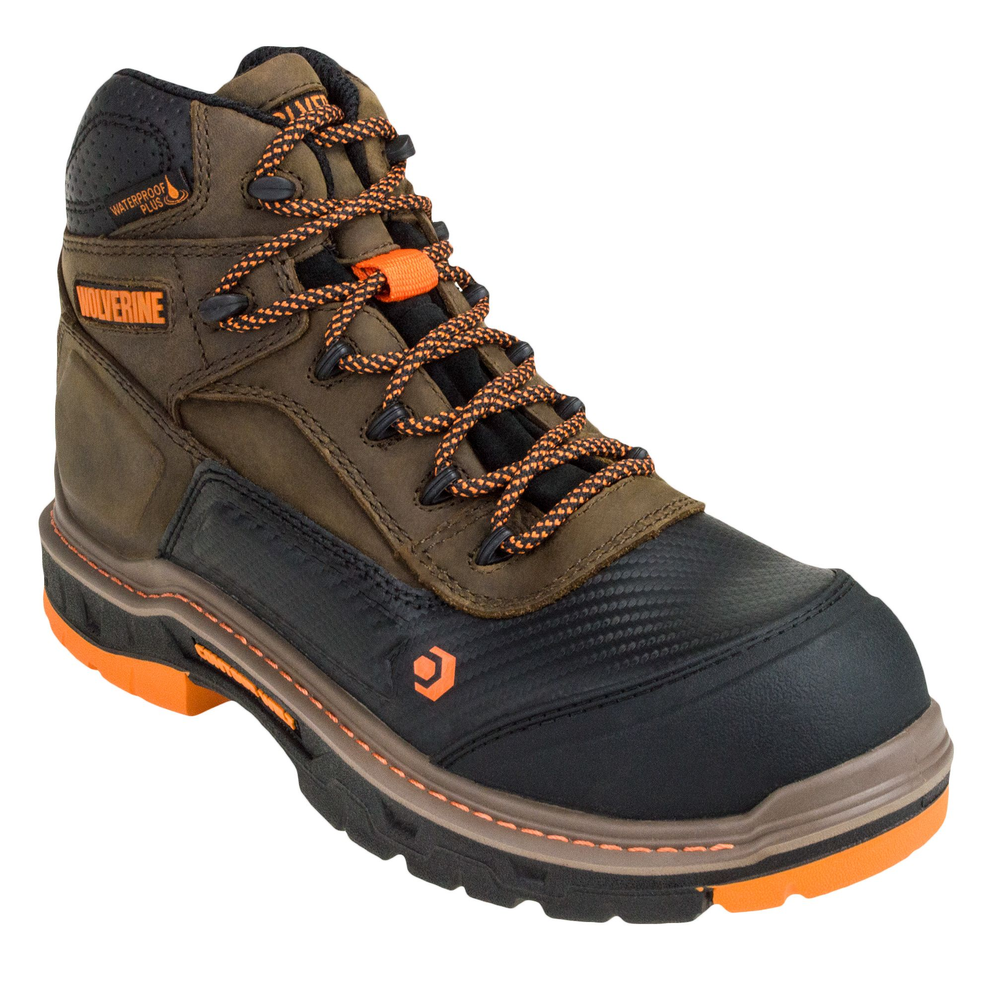 Wolverine Overpass Mid Men's ... Work Boots i93HPgHo
