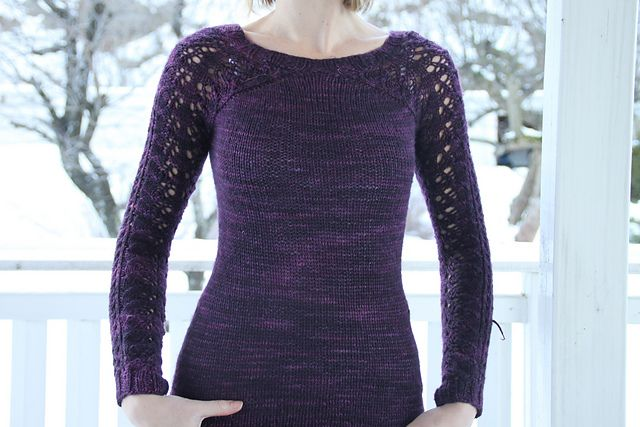 Bloomsbury pattern by Svetlana Volkova knit by aidasofie