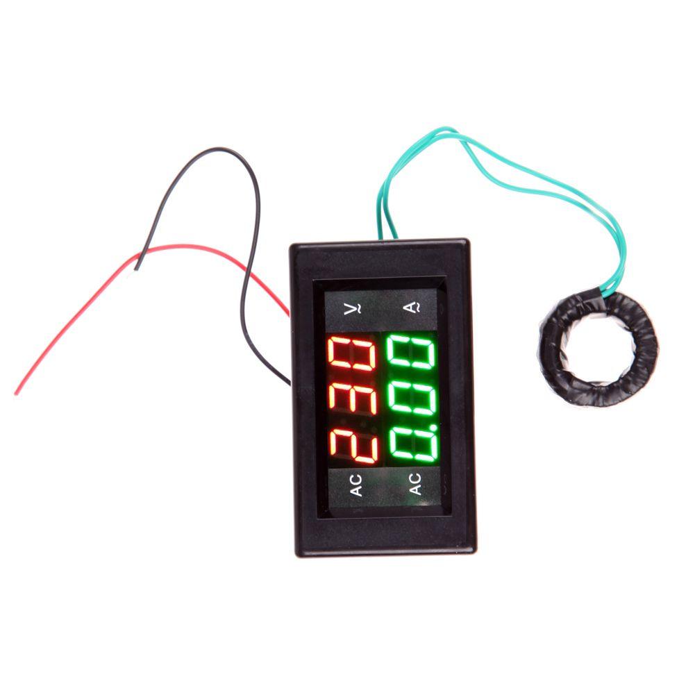Encontrar Ms Medidores De Tensin Informacin Acerca Ac 500 V L200 12v Constant Voltage Battery Charger Circuit This 50a Digital Ampermetro Del Voltmetro Metro Voltio Led Amp Negro Alta Calidad