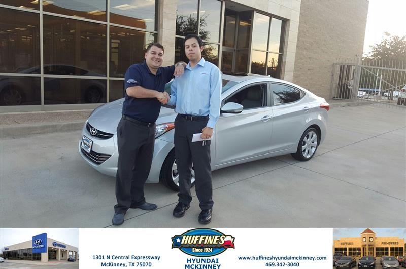 Happy Anniversary To Jacob On Your Hyundai Elantra From Vincent Barber At Huffines Hyundai Mckinney Https Deliverymaxx Hyundai New Hyundai Car Dealership