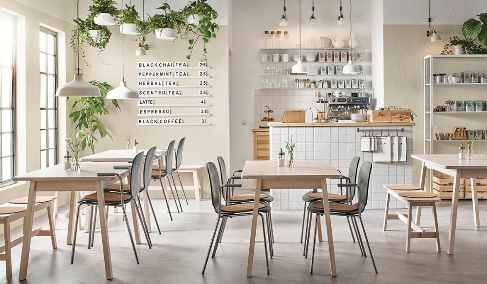 Arredamento Per Gastronomia Ikea Elegante E Robusto Decorazione Caffetteria Ristorante Interni Design Per Interni Ristorante