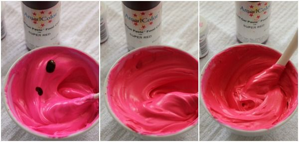 Magenta, Fuchsia, and Deep Pink Icing Color... from @SweetSugarBelle ...