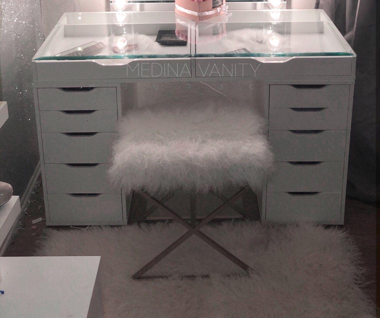 Zara Vanity Table 2 Dressers Vanity Table Ikea Vanity Glass