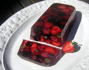 Wild Berries Jello Fruit Cake Sweets Treats Pinterest Jello