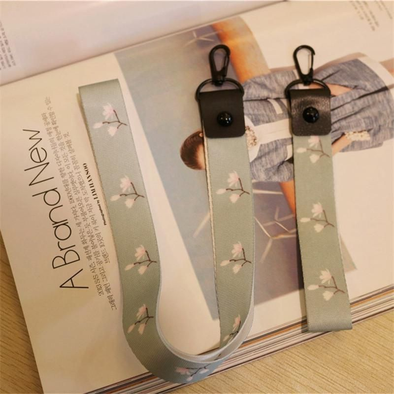 2018 Plum Phone Shell Strap Neck Lanyard For Keys Id Card Pass Gym
