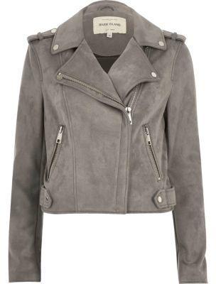 Mantel Outwearlinie Reißverschluss Flight Damen Mode Biker NEU ~ XL