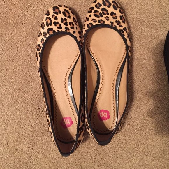 8325df08f92b BP cheetah print flats! Size 6.5 Nordstrom BP cheetah print flats! Only  worn twice, great condition. BP Shoes Flats & Loafers