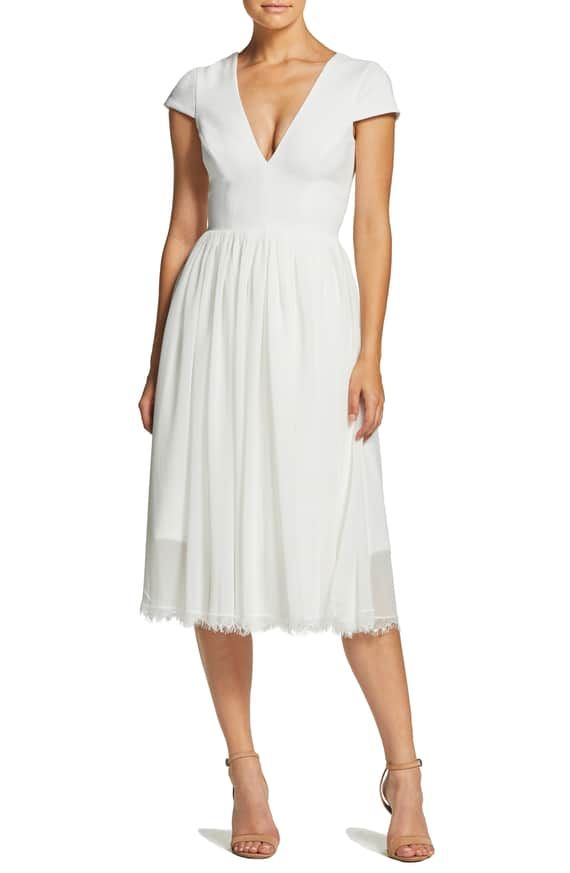Product Image 0 Dress The Population Flare Dress