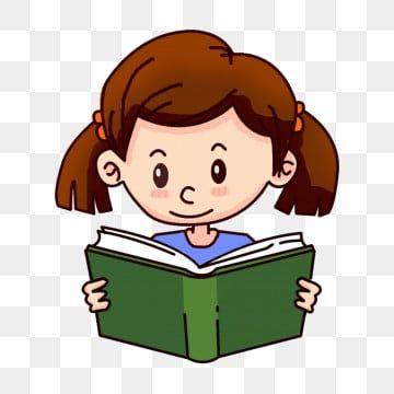 Little Girl Reading Little Girl Reading A Book Read Reading Reading Clipart Hand Drawn Cartoon Character Cute Little Girl Png Transparent Clipart Image And P Little Girl Illustrations Character Illustration Girl