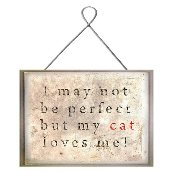 Love Plaques Quotes Fascinating Cat Love Plaque  Kittykats  Pinterest  Cat Kitty And Cat Lady